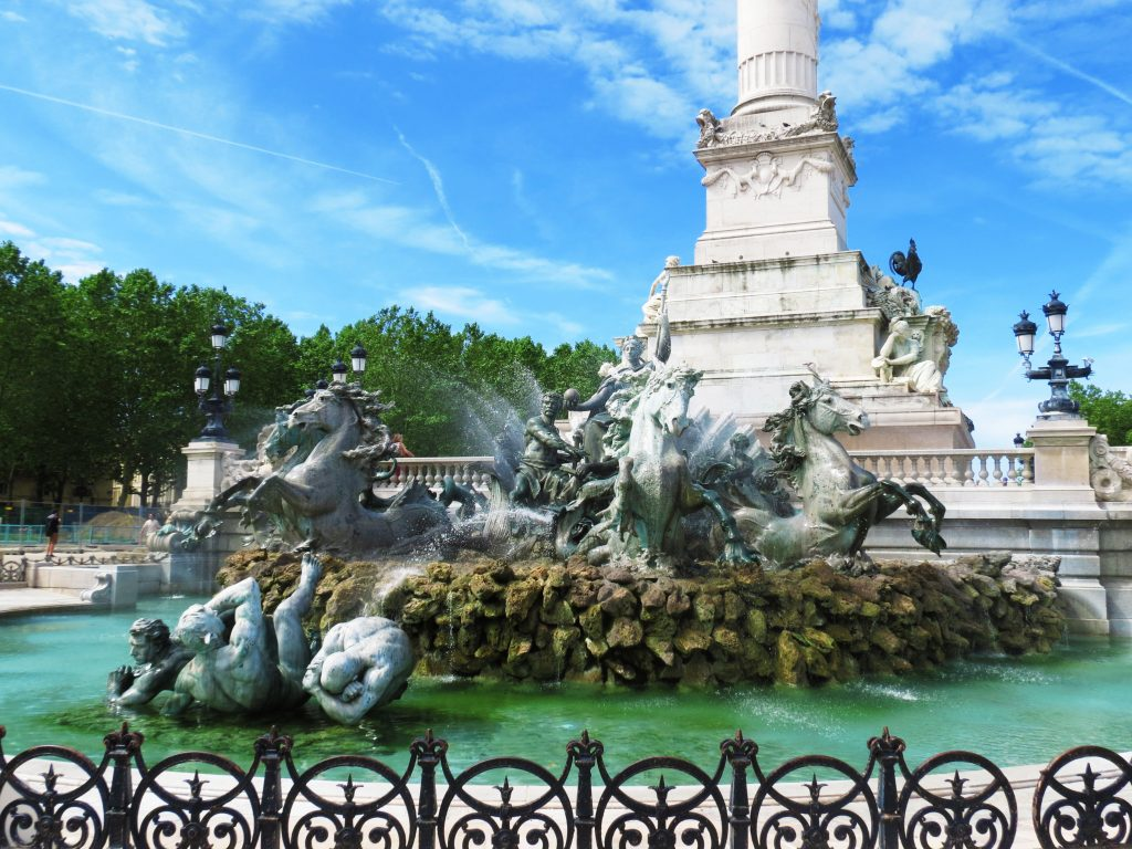 Picture of monument aux girondins10 Places you must see in Bordeaux
