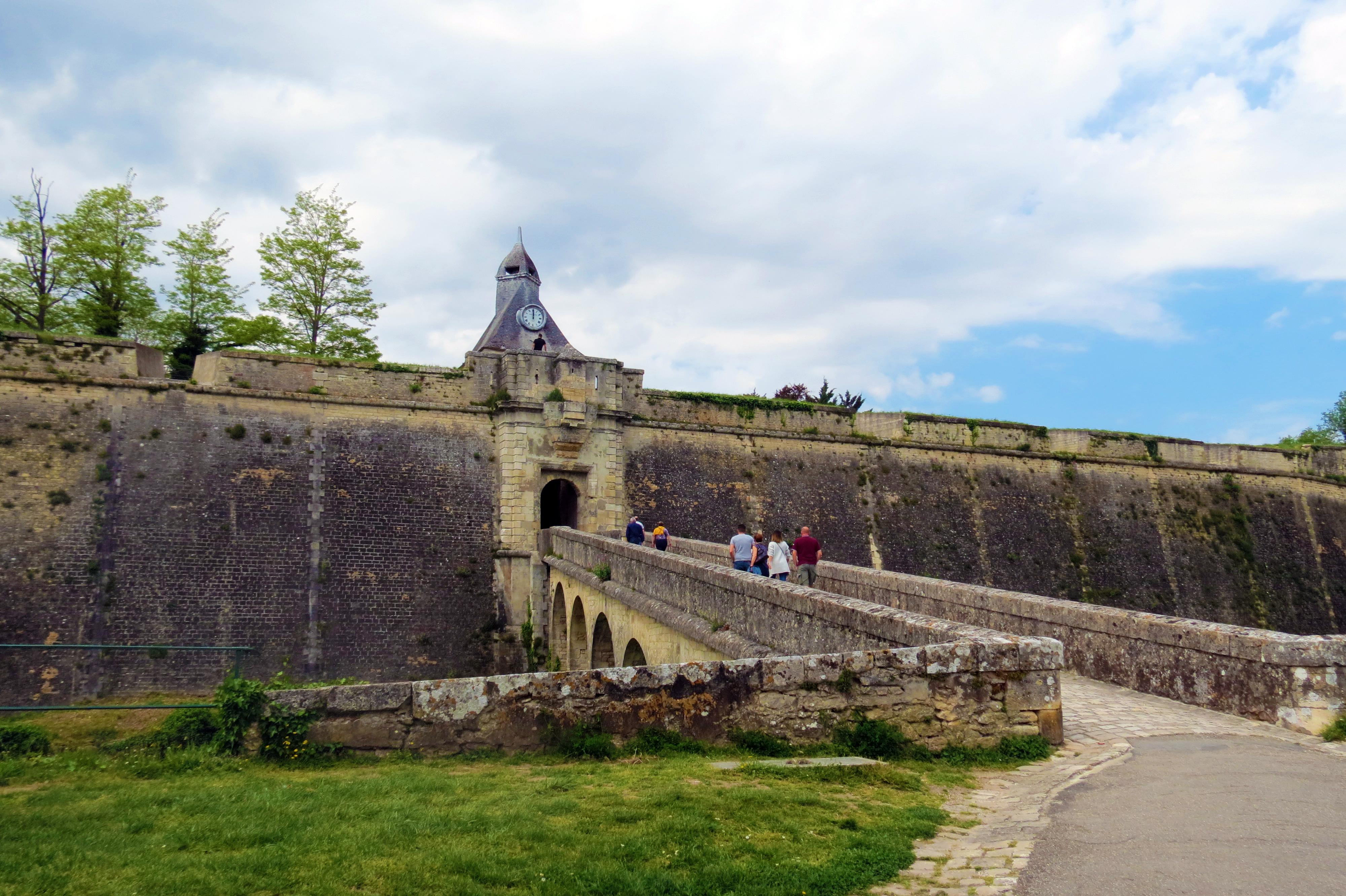 La porte Dauphine, Blaye, France